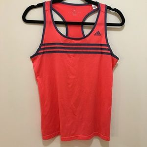 Adidas Orange Racerback Pinney